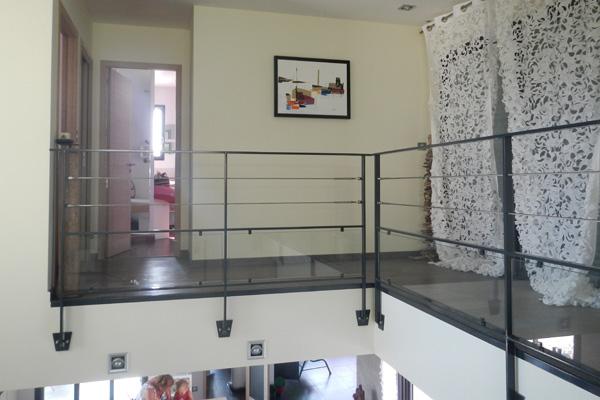 garde corps et escalier fer et verre villeveyrac. Black Bedroom Furniture Sets. Home Design Ideas