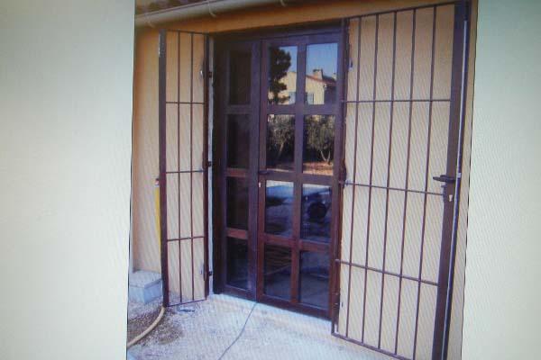 Porte vitr e et grille de d fense aix en provence ferstyle vous pr sente ses cr ations - Porte vitree exterieure ...